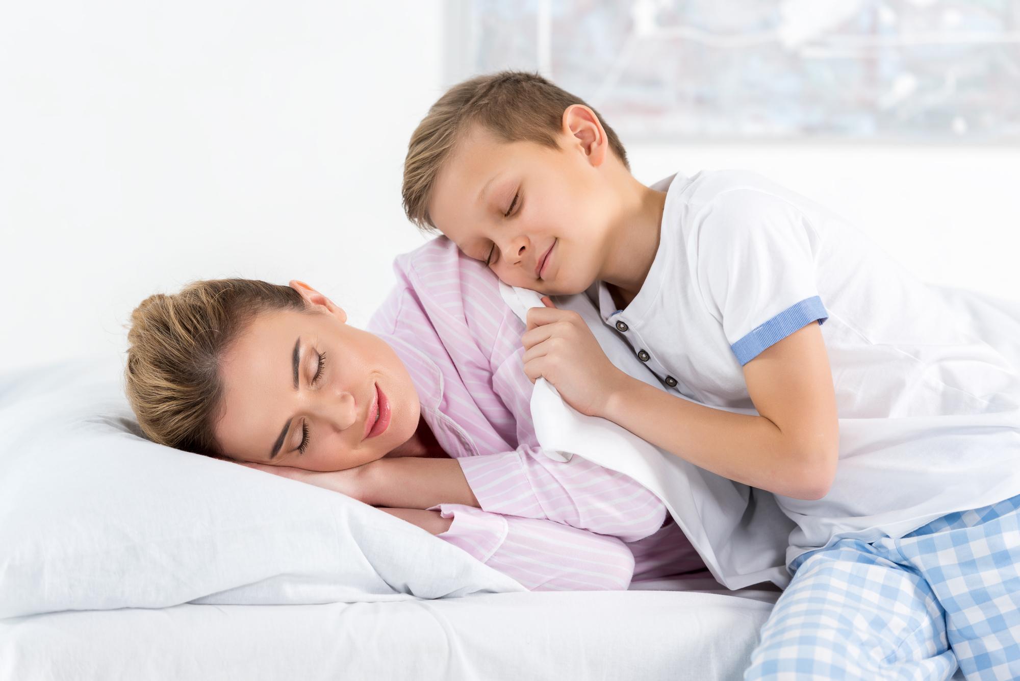 Mor og søn