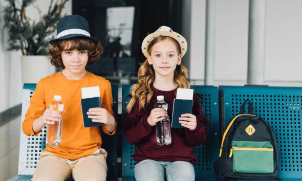 Rejseklar børn